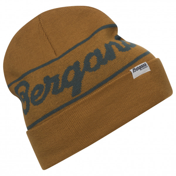 Bergans - Bergans Logo Beanie - Mütze Gr One Size braun 213888