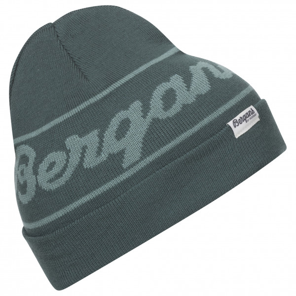 Bergans - Bergans Logo Youth Beanie - Mütze Gr One Size schwarz/grau 214062
