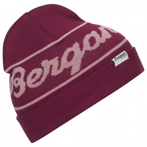 Bergans - Bergans Logo Youth Beanie - Mütze Gr One Size schwarz/grau 7740