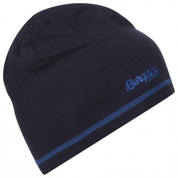 Bergans - Bergans Wool Beanie - Mütze Gr 58 cm schwarz 214683