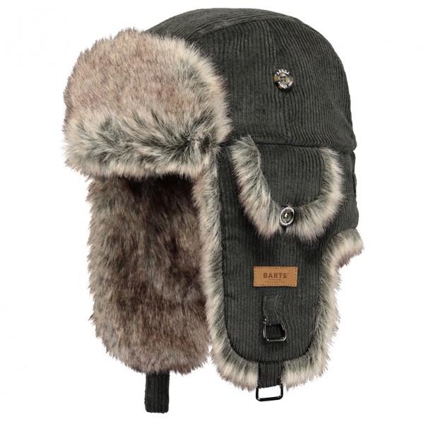 Barts - Rib Bomber - Mütze Gr One Size schwarz/grau 01250131