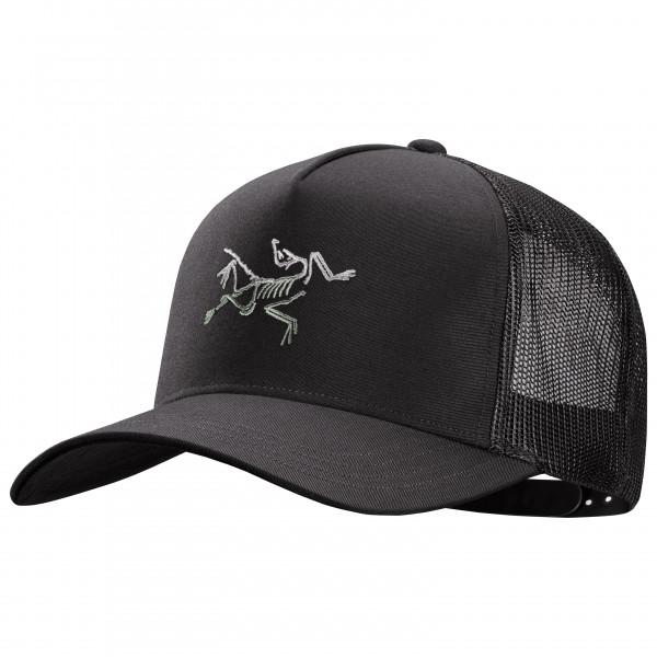 Arcteryx - Polychrome Bird Trucker - Cap Size One Size  Black