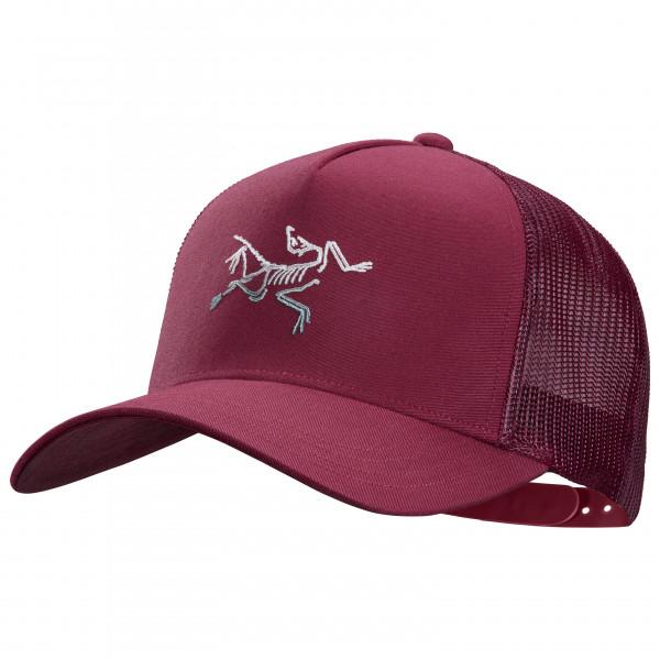 Arcteryx - Polychrome Bird Trucker - Cap Size One Size  Purple/red/pink