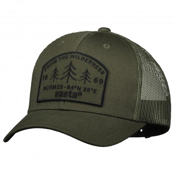 Sasta - Wilderness Cap - Cap Gr One Size schwarz/oliv 20-4012 -0008-1