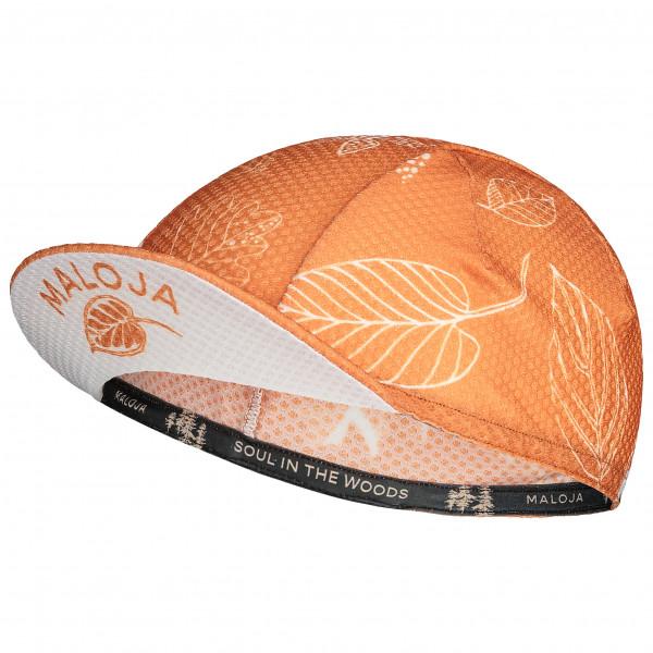 Maloja - Women's ElsbeereM. - Radmütze Gr One Size beige/orange 31327-1-8483-OS
