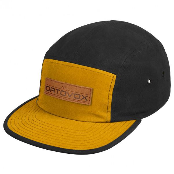 Ortovox - Vintage Logo Cap - Cap Size 58 Cm  Black/orange/brown