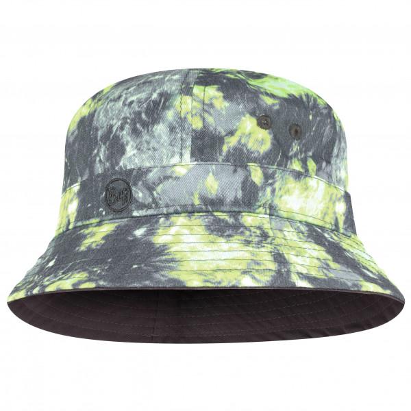 Buff - Bucket Hat - Hat Size One Size  Grey/black