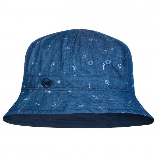 Buff - Kids Bucket Hat - Hat Size One Size  Blue