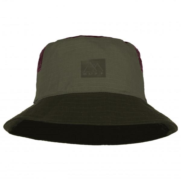 Buff - Sun Bucket Hat - Hat Size L/xl  Black/olive