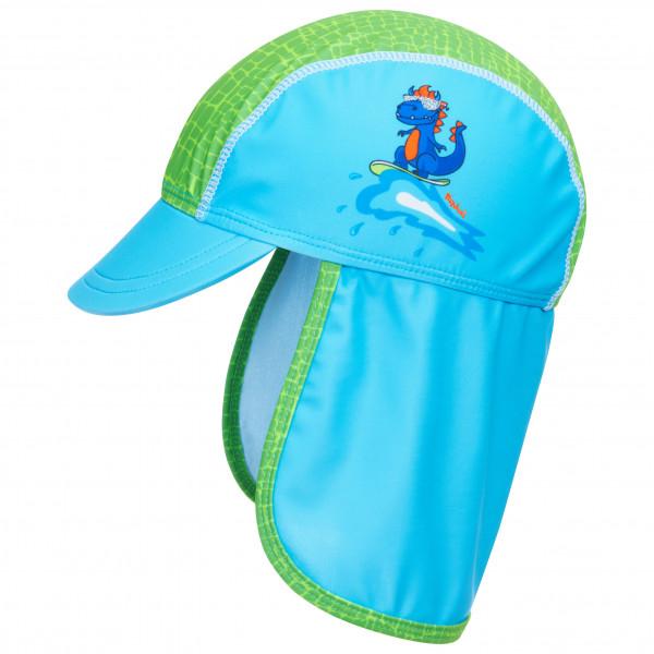 Playshoes - Kids Uv-schutz Mtze Dino - Cap Size 49 Cm  Turquoise