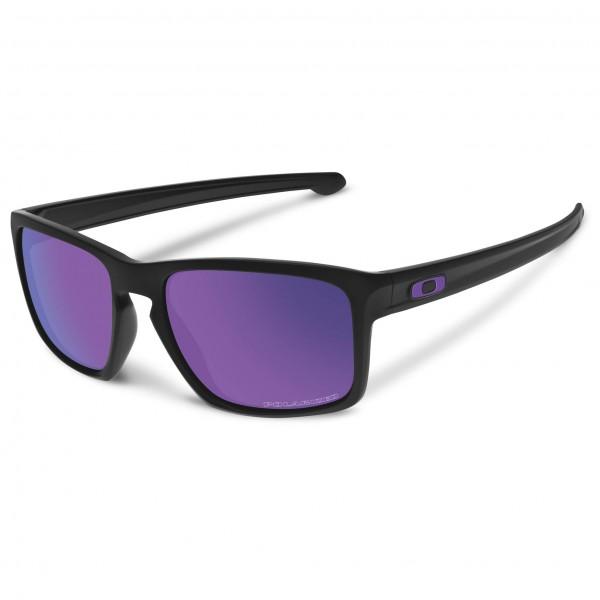 Oakley - Sliver Violet Iridium Polarized Sonnenbrille lila/schwarz/grau Sale Angebote