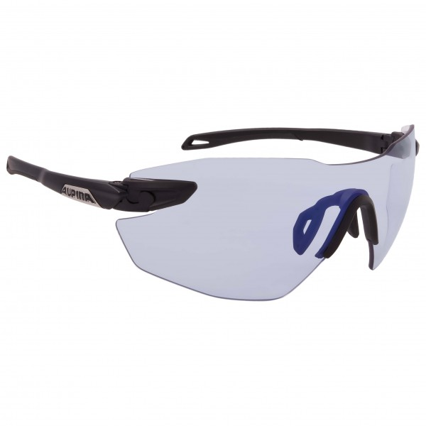 Alpina - Twist Five Shield RL VLM+ S1-3 - Fahrradbrille grau/schwarz A8588