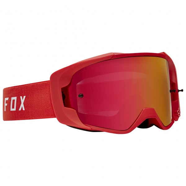 FOX Racing Vue Goggle Goggles maat One Size rood-roze