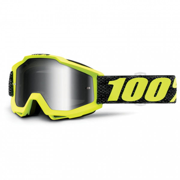 100% - Accuri Goggle Anti Fog Mirror S2 (VLT 25%) - Sykkelbrille, svart/grått/gul