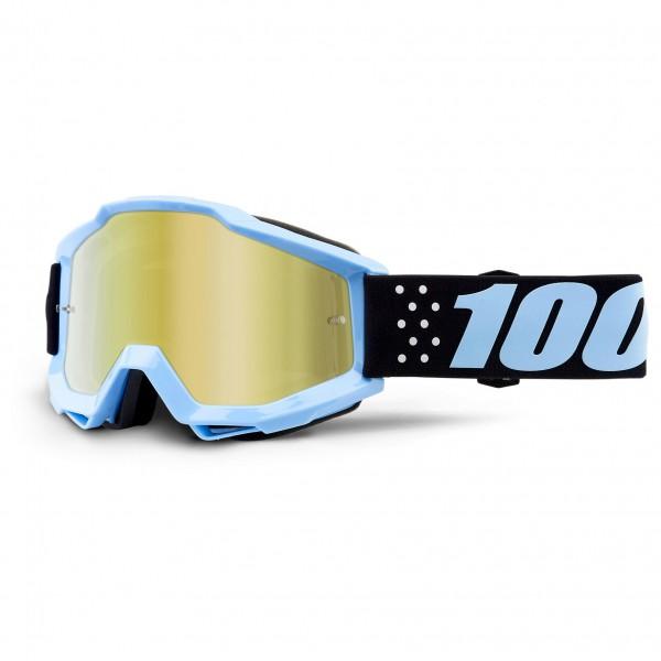100% - Accuri Goggle Anti Fog Mirror S2 (VLT 28%) - Sykkelbrille, grått/svart/beige