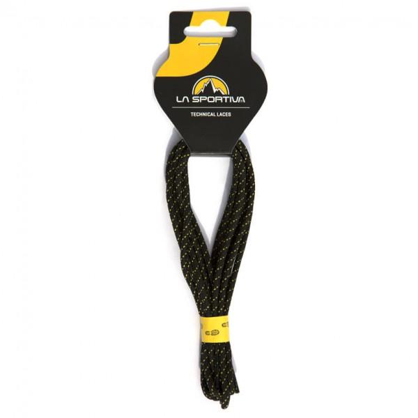 La Sportiva - Approach Laces Gr 147 cm - 58´´ schwarz/gelb