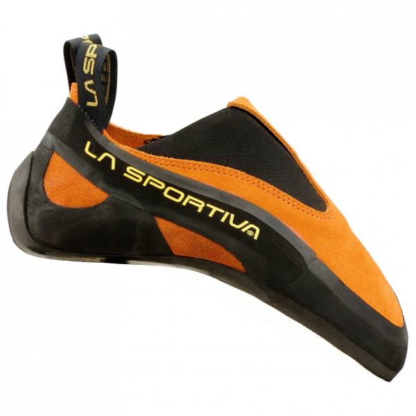 La Sportiva - Cobra Gr 44,5 schwarz/orange