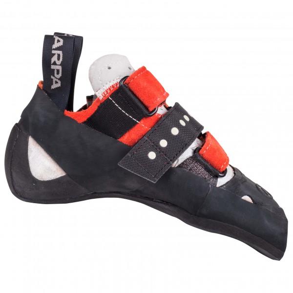 Scarpa - Feroce - Kletterschuhe Gr 34,5 schwarz/rot/grau Preisvergleich