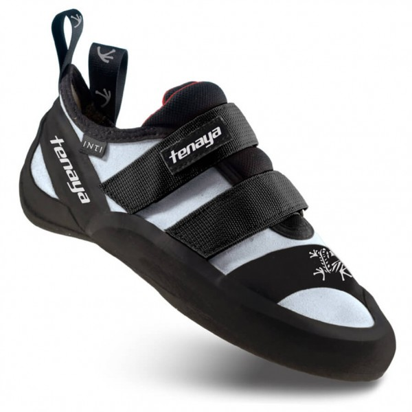 Tenaya - Oasi - Chaussons d'escalade taille 8,5, noir/gris/blanc
