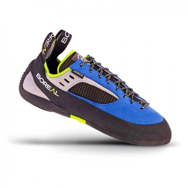 Boreal - Joker Lace - Climbing Shoes Size 8  Black/grey