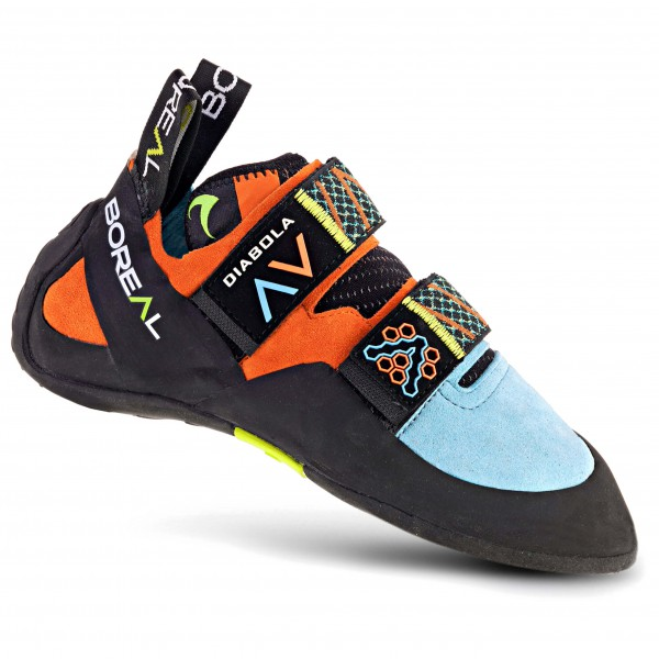 Red Chili - Spirit Lady VCR IZ - Chaussons d'escalade taille 7, noir/orange