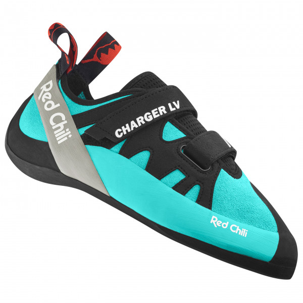 Red Chili - Charger Lv - Climbing Shoes Size 8 5  Black/turquoise