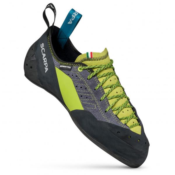 Scarpa - Maestro Eco - Climbing Shoes Size 44 5  Black/grey