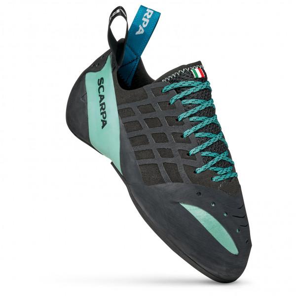 Scarpa - Womens Instinct Lace - Climbing Shoes Size 38 5  Black/turquoise