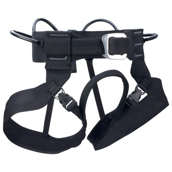 Black Diamond - Alpine Bod - Climbing Harness Size M  Black/grey