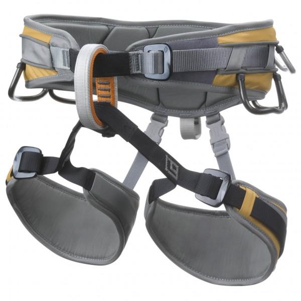Black Diamond - Big Gun - Climbing Harness Size S  Grey/black