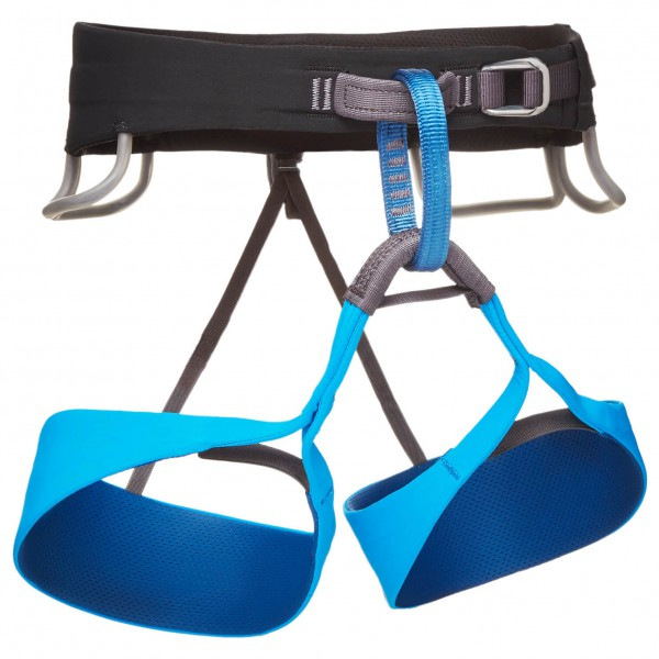 Black Diamond - Solution - Climbing Harness Size Xs  Blue/black/grey