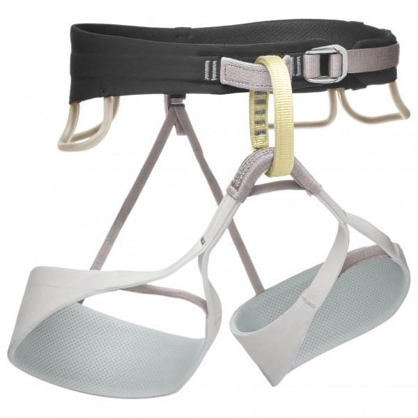 Black Diamond - Womens Solution - Climbing Harness Size L  Grey/black