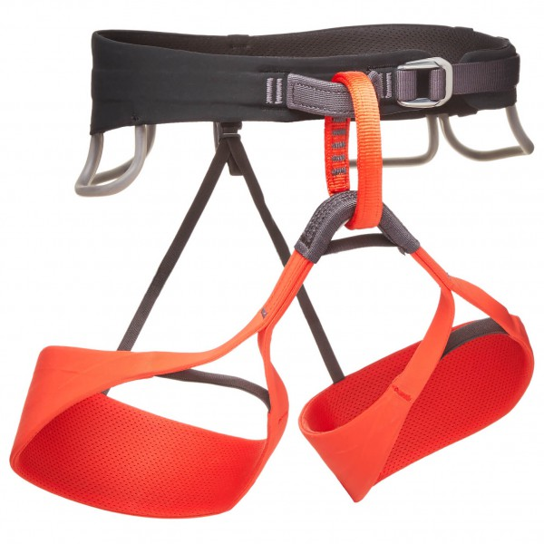 Black Diamond - Womens Solution - Climbing Harness Size Xs  Red/black
