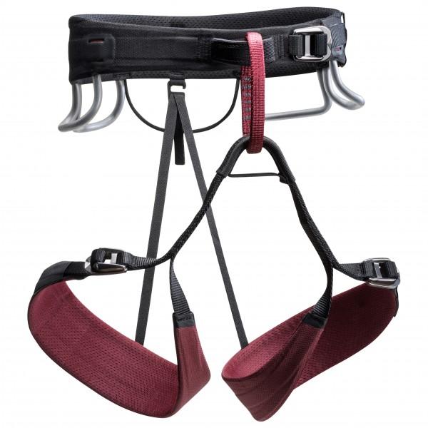 Black Diamond - Womens Technician - Climbing Harness Size M  Black/grey/red
