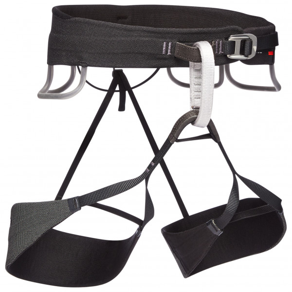 Black Diamond - Solution Guide Harness - Climbing Harness Size M  Black/grey