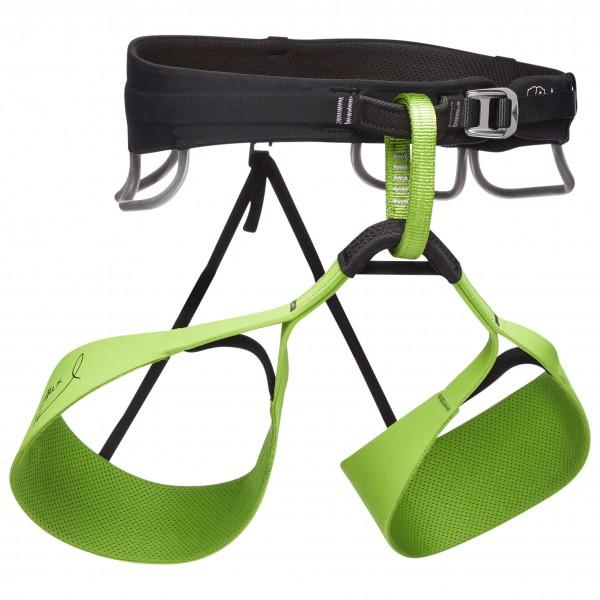 Black Diamond - Solution Harness-honnold Edition - Climbing Harness Size L  Green/black