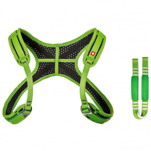Ocun - Webee Chest Lite + Tie-In Sling - Brustgurt Gr 70 - 105 cm grün/schwarz 4582