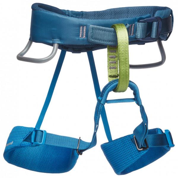 Black Diamond - Kids Momentum Harness - Climbing Harness Size One Size  Blue
