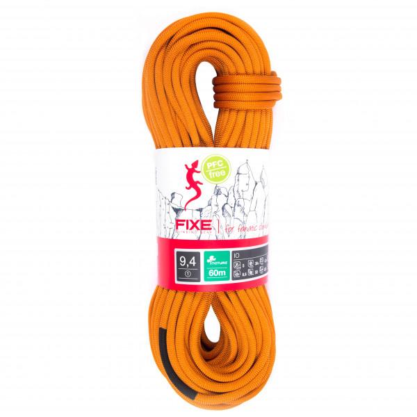 Fixe - Einfachseil Io Nature 9 4 Mm - Single Rope Size 60 M  Orange