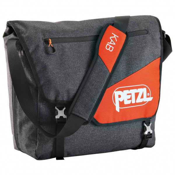 Petzl - Kab Rope Bag - Umhängetasche Gr 20-26 l schwarz/grau S011AA00