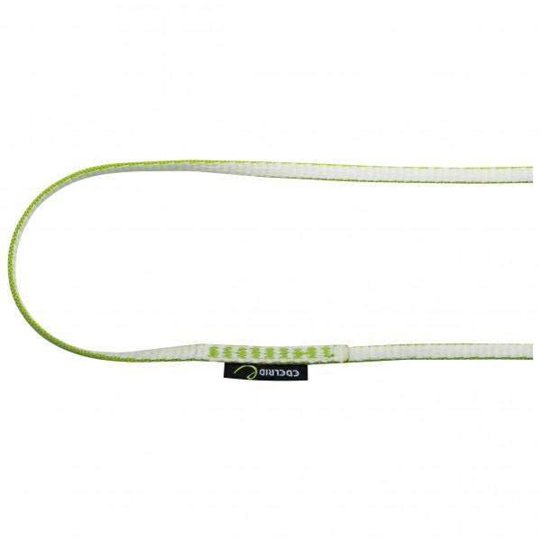 Edelrid - Dyneema-rundschlinge 8 Mm - Sewn Sling Size 180 Cm  White/grey/green