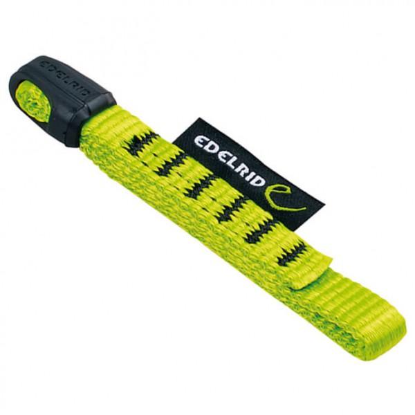 Edelrid - 12 mm Tech Web - Express-Schlinge Gr 10 cm grün/gelb/schwarz