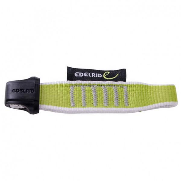 Edelrid - Nylon Quickdraw Sling 15/22 mm - Express-Schlinge Gr 12 cm grau/schwarz/gelb/grün
