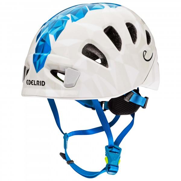 Edelrid - Shield Lite - Kletterhelm Gr 1;2 grau;weiß/grau/blau