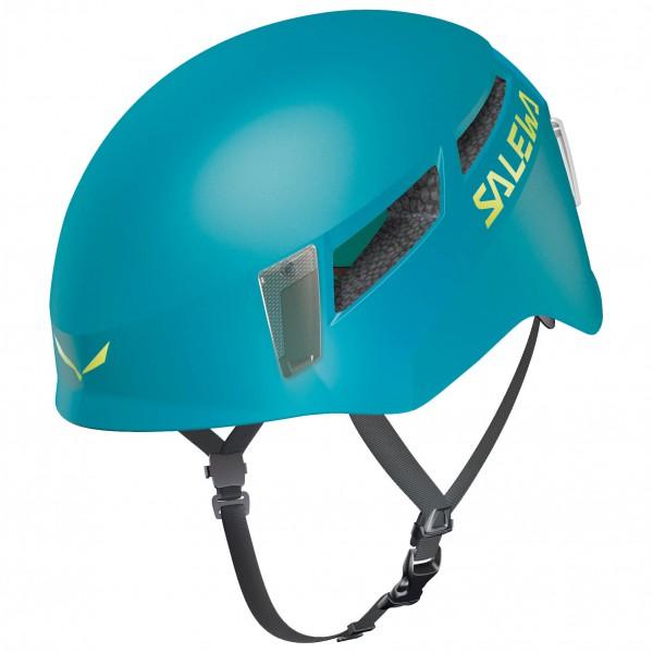 Image of Salewa Pura Helmet Kletterhelm Gr L/XL;S/M gelb;grau/schwarz;rot;türkis/blau;grau/weiß