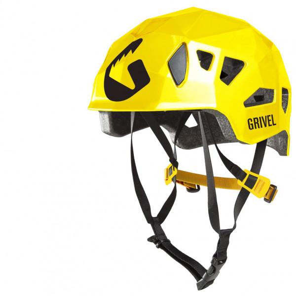 Image of Grivel Helmet Stealth HS (Hardshell) Kletterhelm Gr 55-61 gelb/schwarz