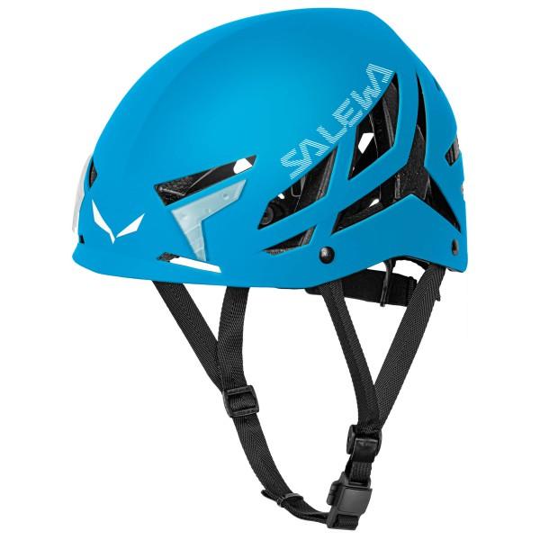 Image of Salewa Vayu 2.0 Helmet Kletterhelm Gr L/XL;S/M rot/schwarz;blau/schwarz;weiß/schwarz/grau;grau/schwarz;gelb/schwarz