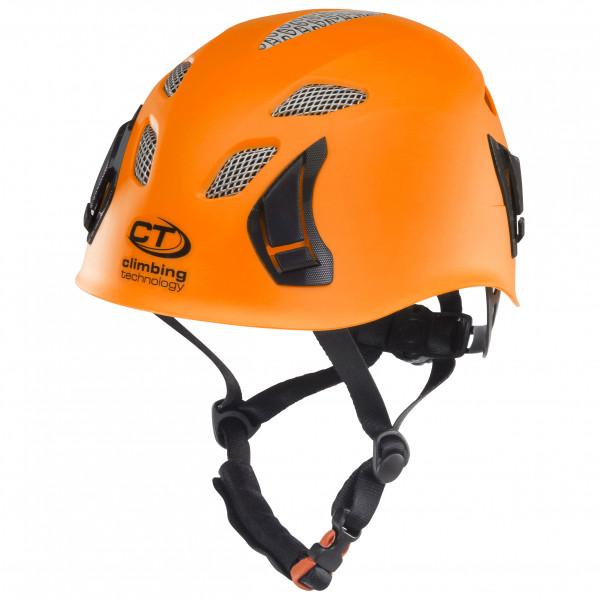 Image of Climbing Technology Stark Kletterhelm Gr One Size weiß/schwarz/grau;orange/schwarz