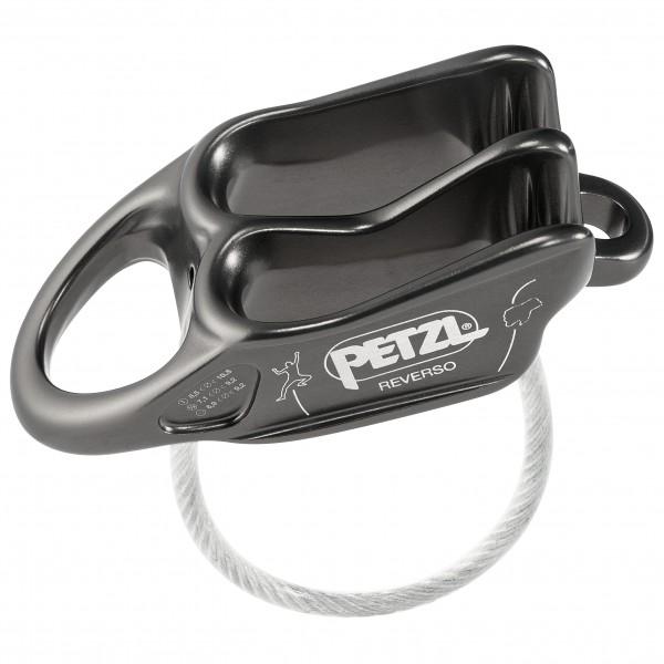 Petzl - Reverso - Belay Device Grey/black