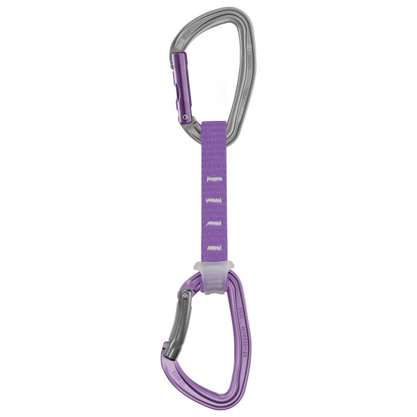 Petzl - Djinn Axess Quickdraw - Quickdraw Size 12 Cm  Grey/purple
